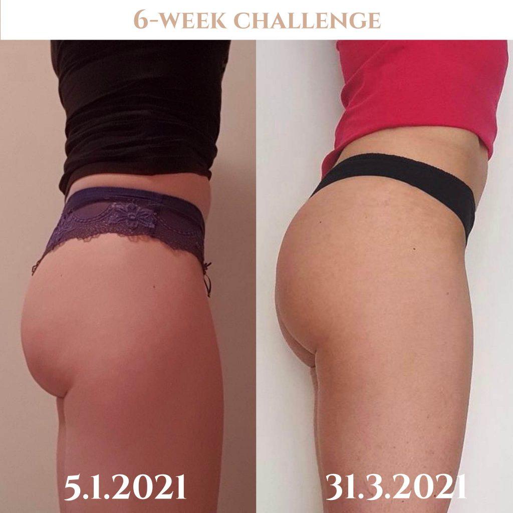 Napredek 6-tedenski izziv Booty Sole