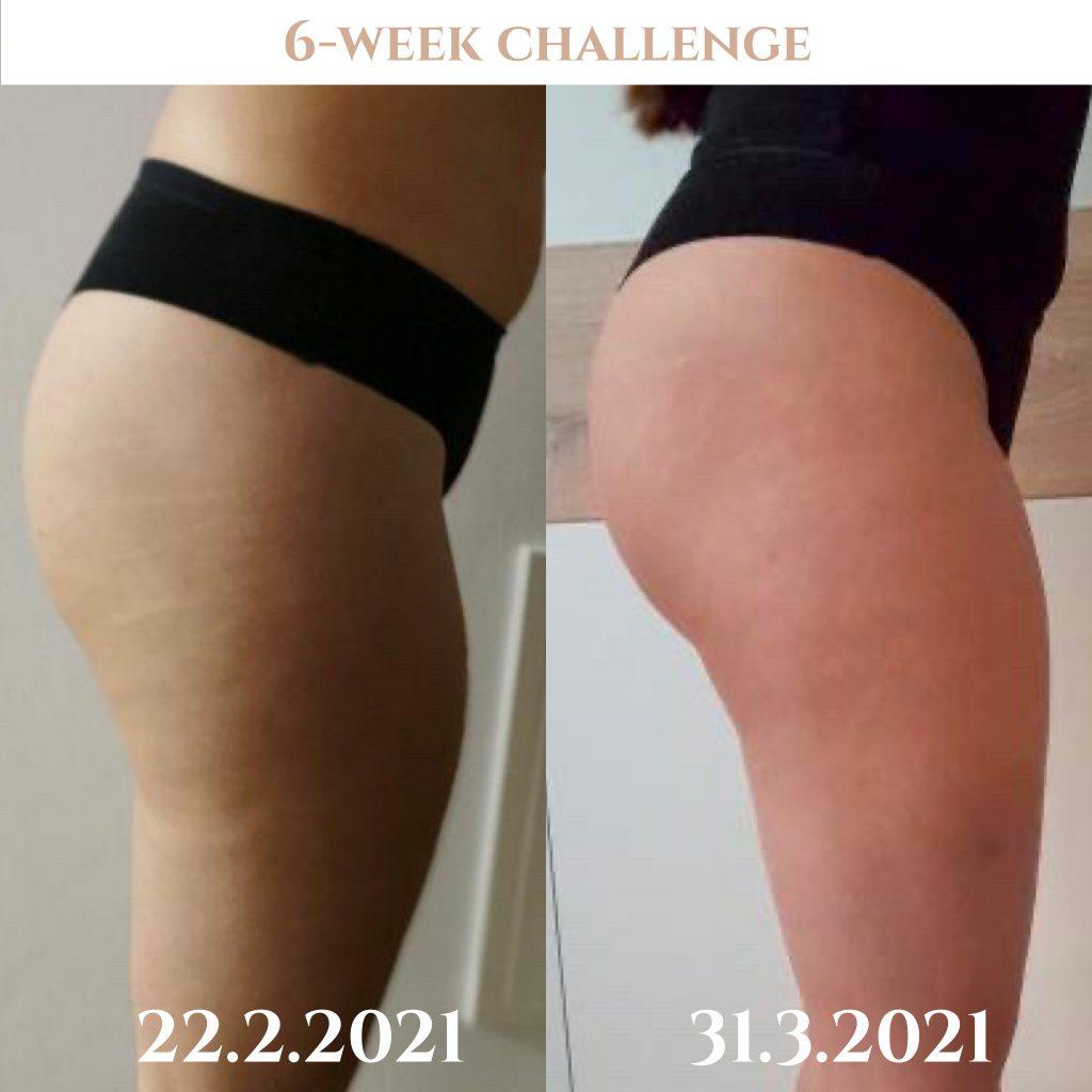 Napredek - 6-tedenski izziv Booty Sole